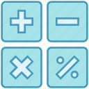 business, calculate, calculator, count, data analytics, finance, market icon