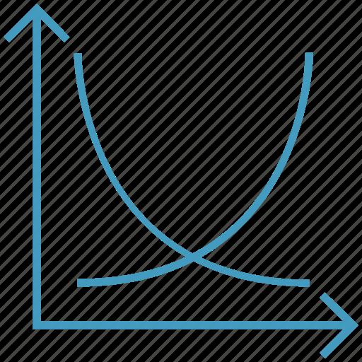analytics, arrows, data analytics, graph, statistics icon