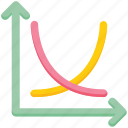 analytics, arrows, data analytics, graph, statistics icon