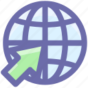 .svg, arrow, buy, download, global, up, world icon