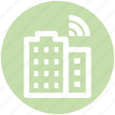 .svg, building, connectivity, technology, wifi, wifi service, wifi signal icon