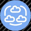 .svg, cloud internet, cloud internet connectivity, cloud network, connected clouds, internet connection, internet connectivity icon