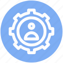.svg, cog, gear, man, options, setting, user icon