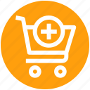 .svg, add, cart, plus, plus cart, shopping, shopping cart icon