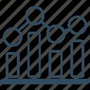 analytics, business, chart, graph, job, meeting, statistics, work icon