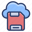 cloud computing, cloud device, cloud hosting, cloud storage, cloud technology icon