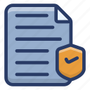 agreement, application approved, approved document, certified document, contract, legal document, notice icon