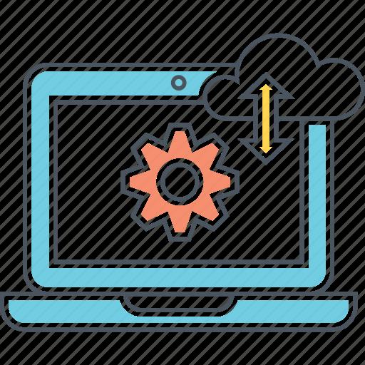 analysis, analytics, cloud, computing, data icon