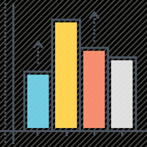 bar, bar chart, data, graph, growth, histogram, statistics icon