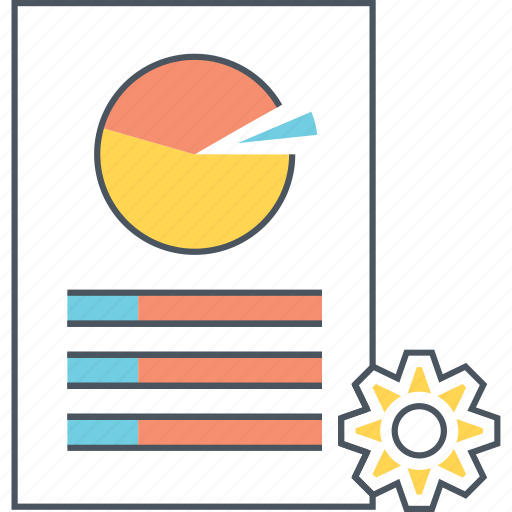 chart, customization, data, diagram, pie, report, seo icon