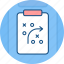 plan, tactics, strategic, team, strategy icon