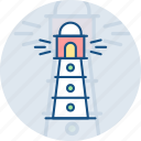 house, lighthouse, light, light house, support