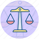 scales, justice, balance