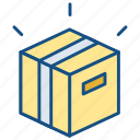 business, modern, product, release icon