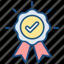 award, certificate, check, confirm, correct, guarantee, validity