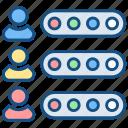 ability, skills, team icon