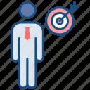 achievement, goal, mission, success, target icon