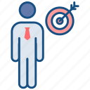 achievement, goal, mission, success, target, aim, award