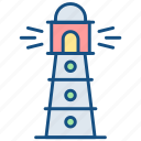 house, light, light house, lighthouse, support icon