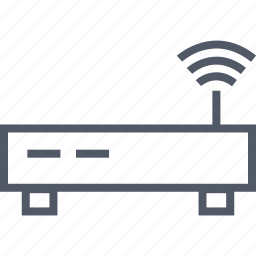antenna, communication, internet, router icon
