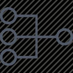 communication, connected, data, database, internet icon
