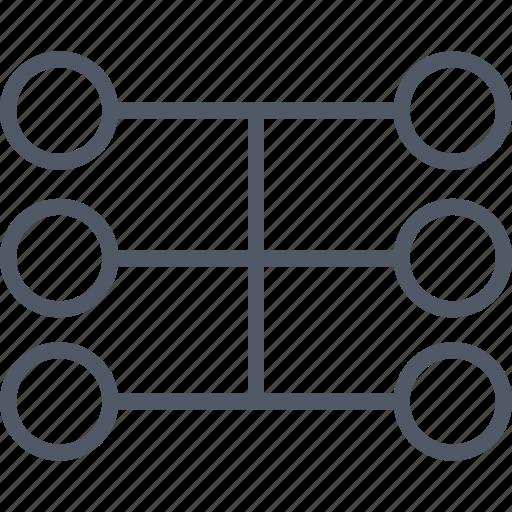 communication, data, database, internet icon