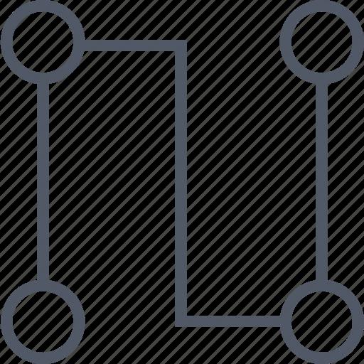 communication, data, database, internet, online, server icon