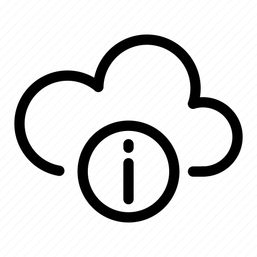cloud, computing, connection, data, database, info, network icon