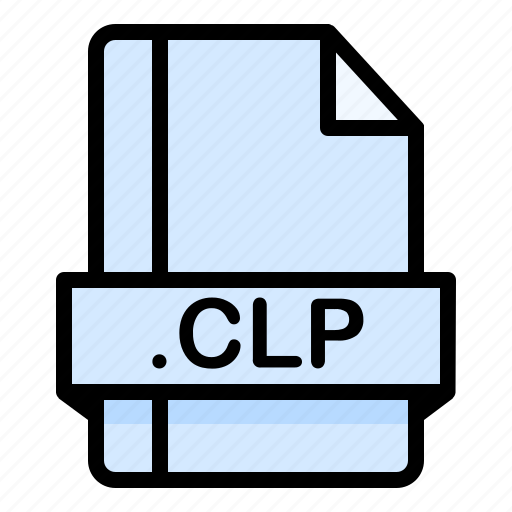 Clp, file, file extension, file format, file type icon - Download on Iconfinder