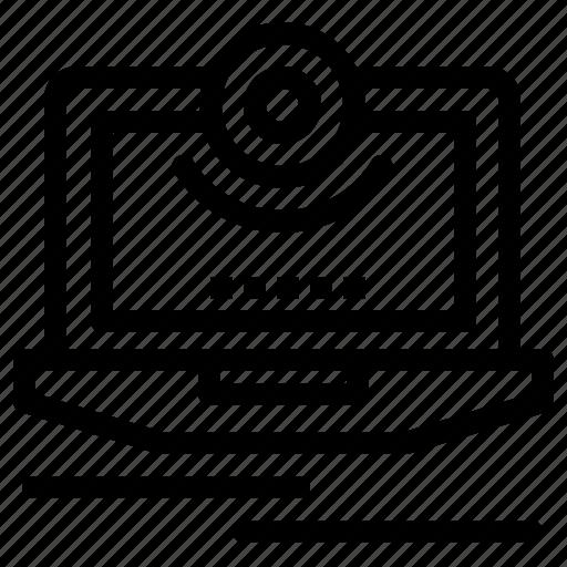 cam, camera, computer, monitor, video icon