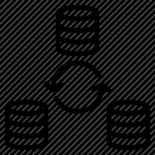 data, file, refresh, sync, synchronization icon