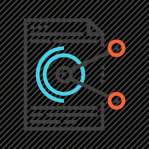 data, database, document, management, server, sharing icon
