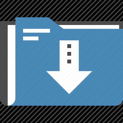 archive, content, data, download, file, folder, media icon