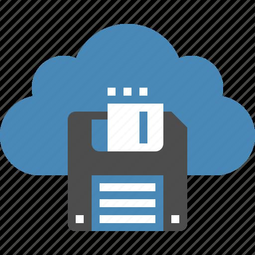 cloud, computing, data, guardar, internet, network, save, storage icon