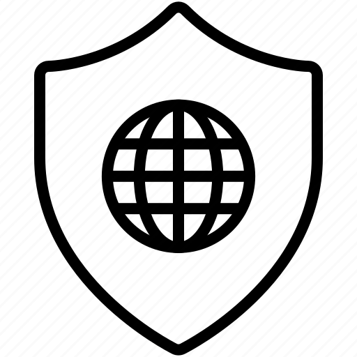 anti virus, privacy, protected, protection, safe, secured, shield icon