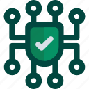 data, gdpr, network, privacy, protection icon