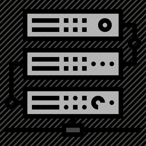 cloud, cloudserver, dedicated, files, server icon
