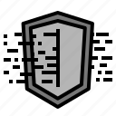 cloud, data, protection, server, sheild icon