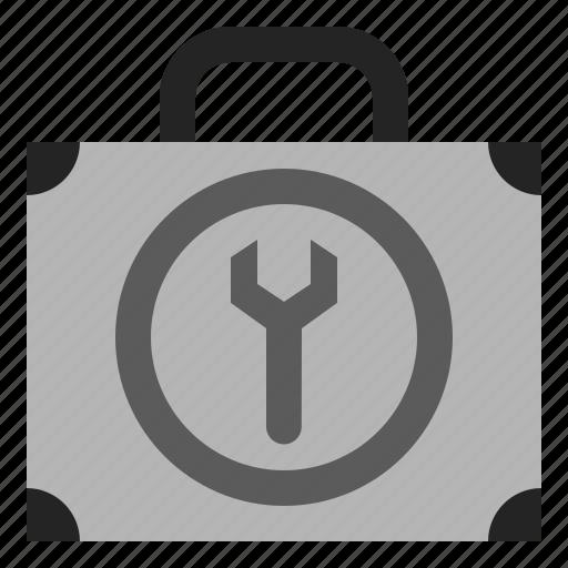 box, control, panel, settings, tool icon