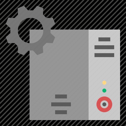 1, data, maintenance, operation, server icon