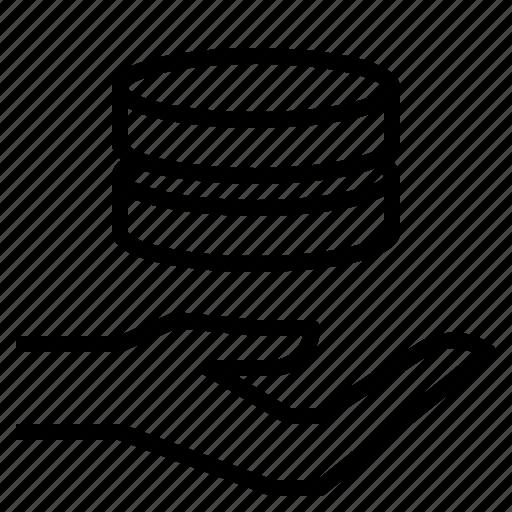 data, maintenance, operation icon