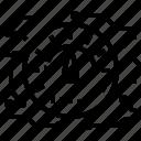 internet, speed, test icon