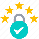 2, compliance, eu, gdpr, license icon