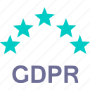 2, compliance, data, eu, gdpr, protection icon