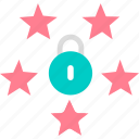 data, eu, gdpr, lock, protection icon