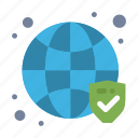 globe, secure, security, verified