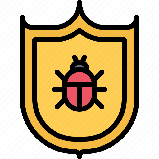 antivirus, hacker, network, protection, security, shield, virus icon