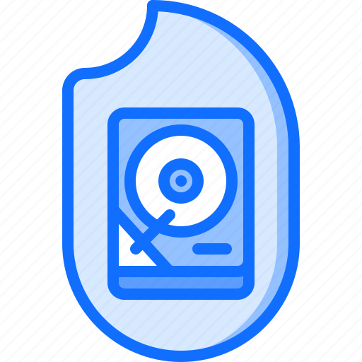 data, fire, hacker, hdd, network, protection, security icon