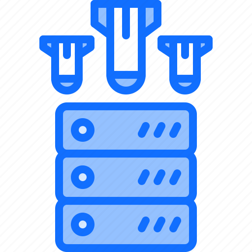 attack, ddos, hacker, network, protection, security, server icon
