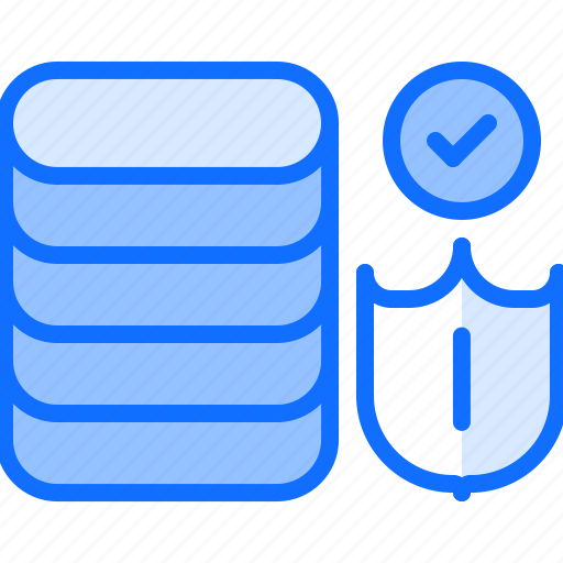 data, database, hacker, network, protection, security, shield icon